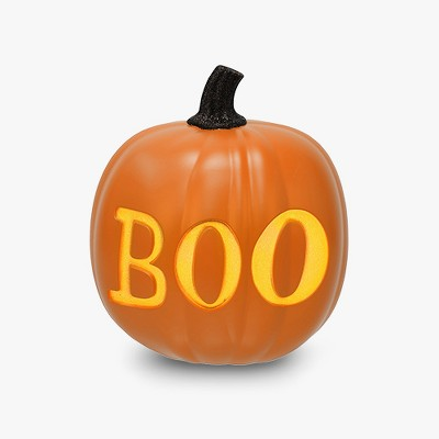 Hallows Eve Halloween Large Light Up Pumpkin - Hyde and Eek! Boutique™