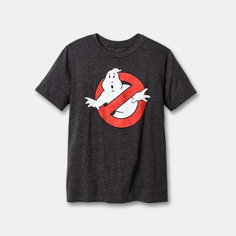 Boys' Ghostbusters Short Sleeve T-Shirt - Charcoal Heather