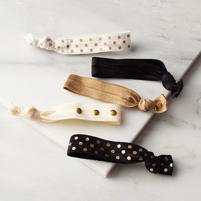 La-ta-da™ Ribbon Hair Ties - 5ct