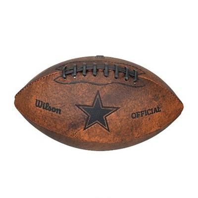 NFL Wilson 9 inch Throwback Football