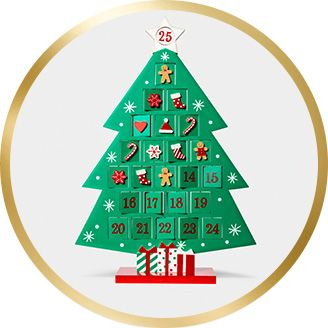 advent calendar - Classic Christmas Tree Decorations