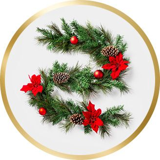 garlands - Garland Christmas Decor