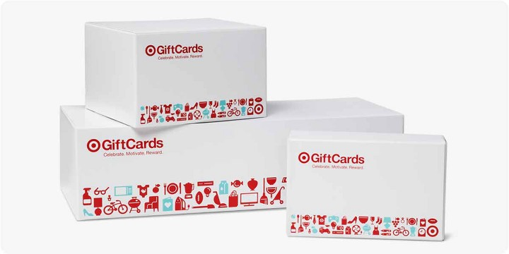 Gift cards shipping boxes