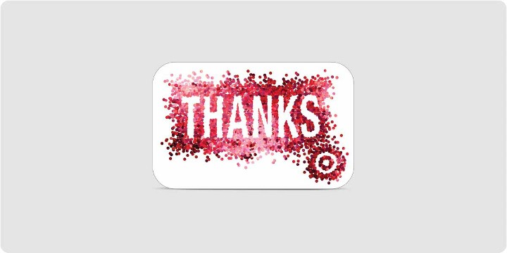 image of Target Gift Card - Thanks