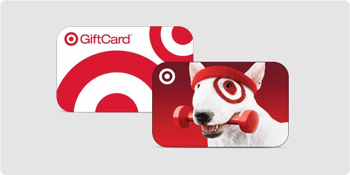 target gift card images