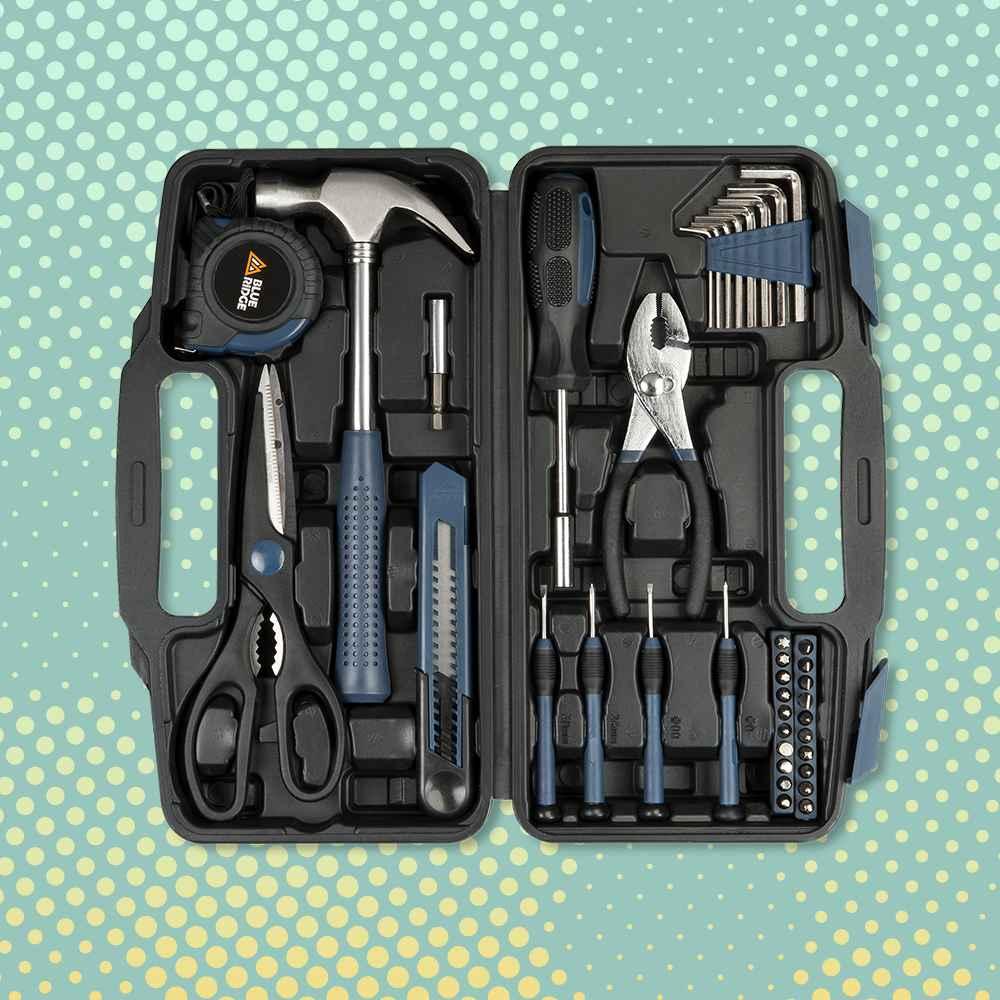 Blue Ridge Tools 40pc Household Tool Kit