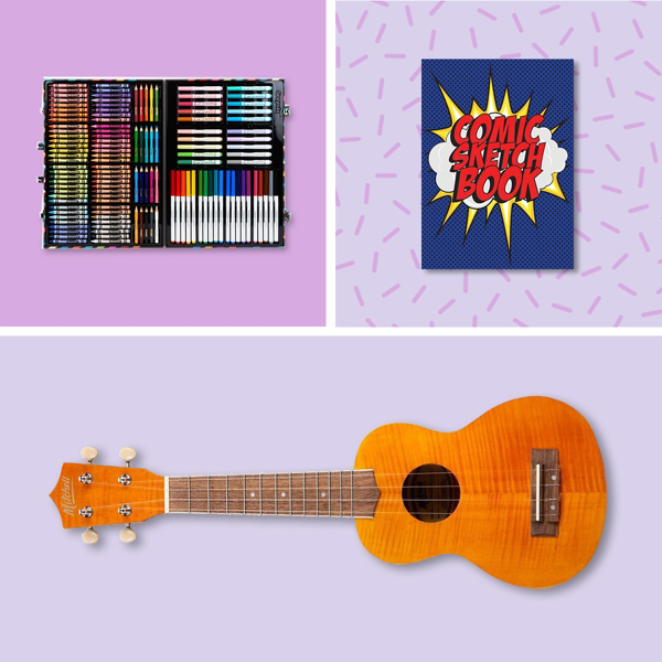 Inspired gifts for creative kids.