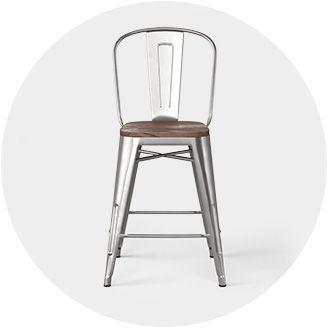 low back bar counter stools target. Black Bedroom Furniture Sets. Home Design Ideas