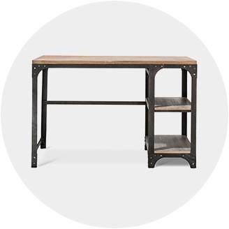 Industrial furniture table 20 Foot Industrial Furniture Industrial Coffee Tables Overstockcom Industrial Furniture Decor Target