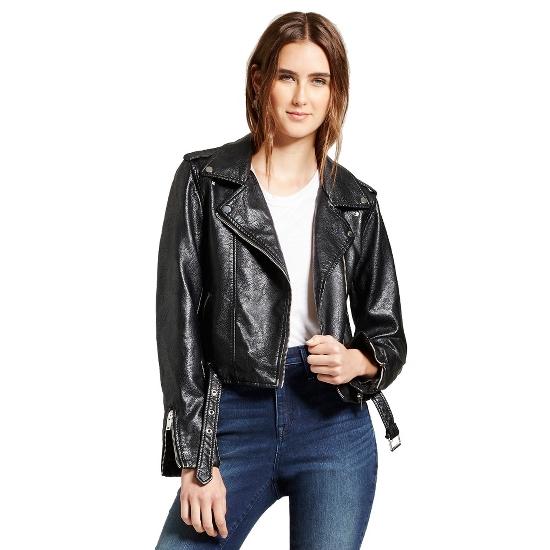 Women's Moto Jacket - R+J Couture Black