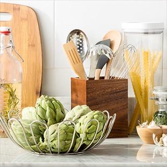 Kitchen Counter With Food kitchen storage & organization : target
