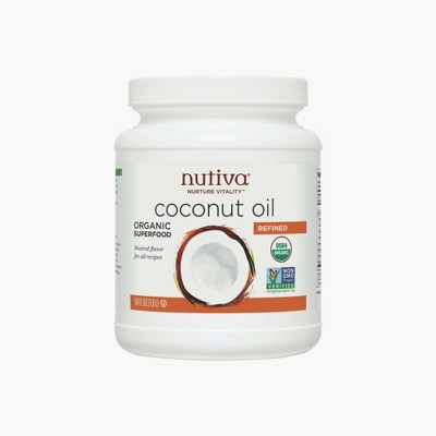 Nutiva® Refined Organic Coconut Oil - 54oz