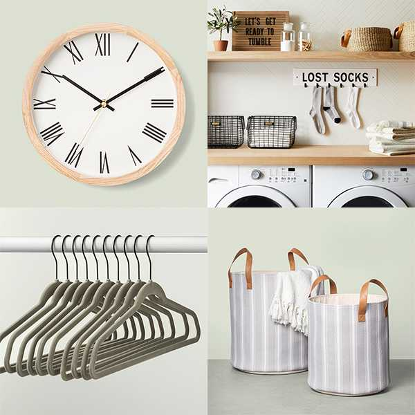 Spruce-ups for your laundry room (or lack thereof).