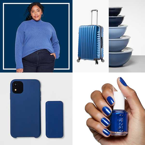 Cool, calm & collected = the color of the year.