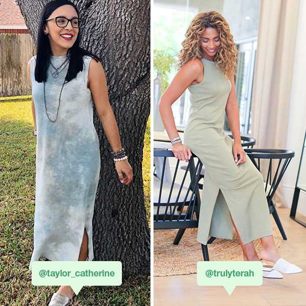 What's got all-day comfort and all-day style? The maxi dress, of course.