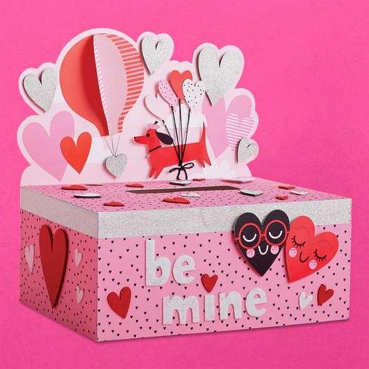 valentines box valentine box castle valentine box use cereal