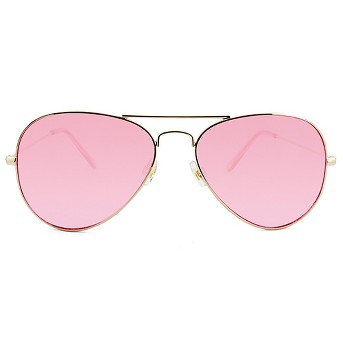 Women's Aviator Sunglasses with Tinted Lenses