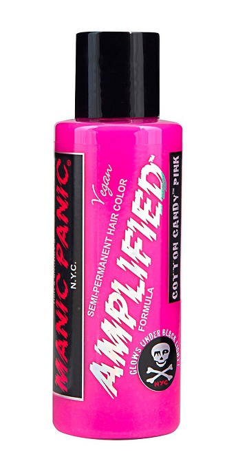 Manic Panic Semi-Permanent Hair Color Vegan Fantasy Colors Cotton Candy Pink