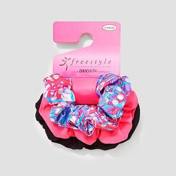 Girls' Freestyle By Danskin 3pk Hair Elastics - Pink