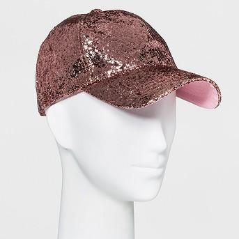 Women's Glitter Baseball Hat - Mossimo Supply Co.™ Pink