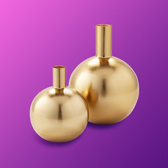 Decorative Brass Vase Gold - Project 62™