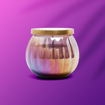 14oz Lidded Glass Jar Candle Midnight Tiger Lily - Escape Collection - Opalhouse™