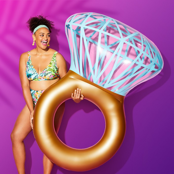 Bling Ring Pool Float - Sun Squad™