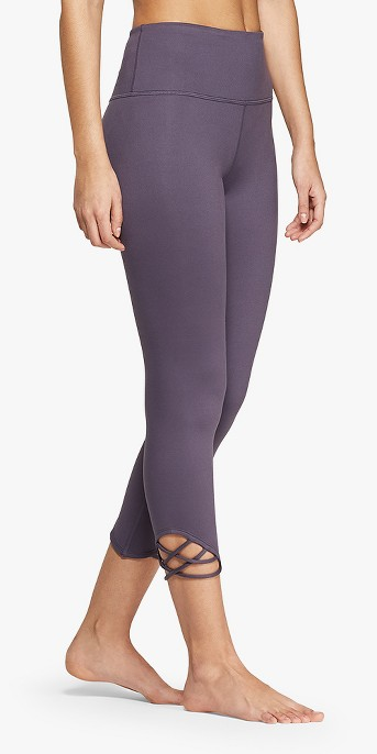 Women's Comfort High-Waisted 3/4 Knotted Leggings - JoyLab™