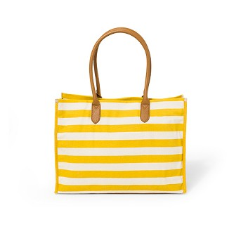 Canvas Boxy Tote Handbag - A New Day™