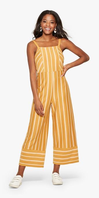 Women's Strappy Square Front Knit Jumpsuit - Xhilaration™