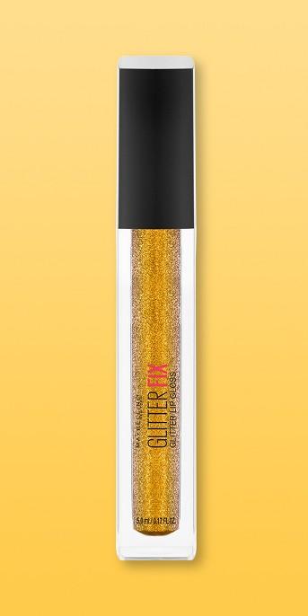 Maybelline Lip Studio Glitter Fix Glitter Lip Gloss - 0.17oz