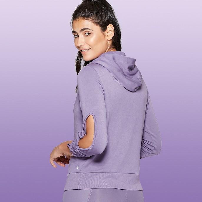 Women's Cut-Out Hooded Sweatshirt - JoyLab™