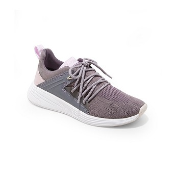 Women's Exalt Knit Lace-up with Bracing Sneakers - C9 Champion® Purple