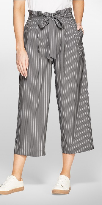 MPG Sport Women's Tie Front High-Waisted Trouser