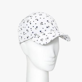 Women's Floral Print Baseball Cap - Wild Fable™ White
