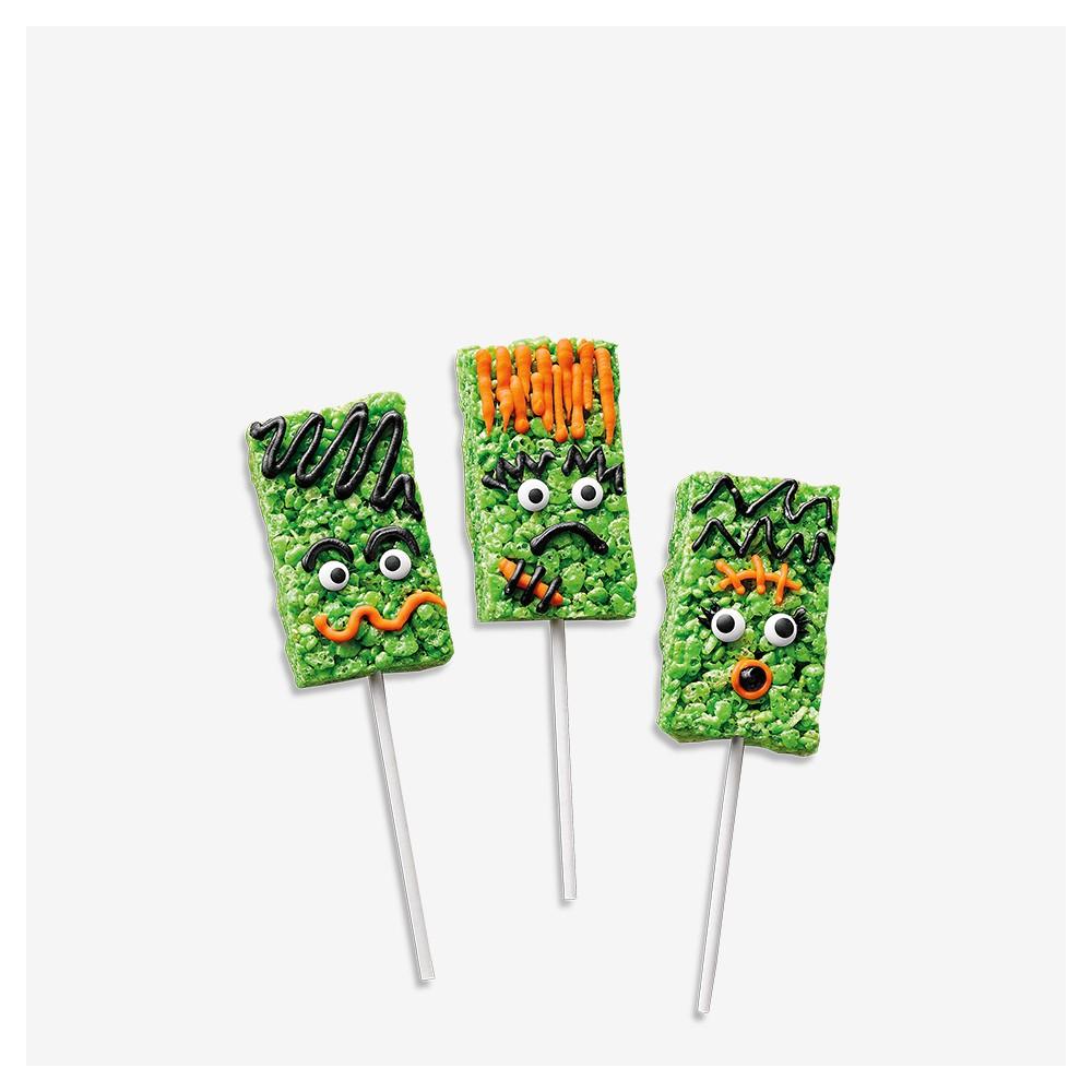 Frankenstein Rice Crispy Treats Kit - 8.96oz - Hyde & EEK! Boutique™, Monster Tie Dye Sugar Cookie Kit - 10.25oz - Hyde & EEK! Boutique™, Halloween Ready to Decorate Scaredy Cat Kit - 24.5oz - Hyde & EEK! Boutique™, Ghost Meringue Cookie Kit - Hyde & EEK! Boutique™