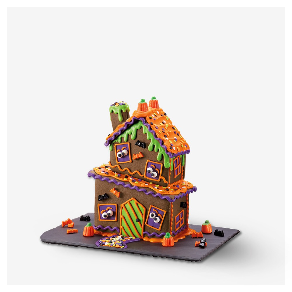 Crooked Cookie House Monster Motel - Hyde & EEK! Boutique™, Halloween Ghost Hollow Cookie Kit - 28.81oz - Hyde & EEK! Boutique™, Halloween Twisted Tavern Chocolate House Cookie Kit - 13.5oz - Hyde & EEK! Boutique™, Halloween Haunted Manor Chocolate Cookie Kit - 32.6oz - Hyde & EEK! Boutique™