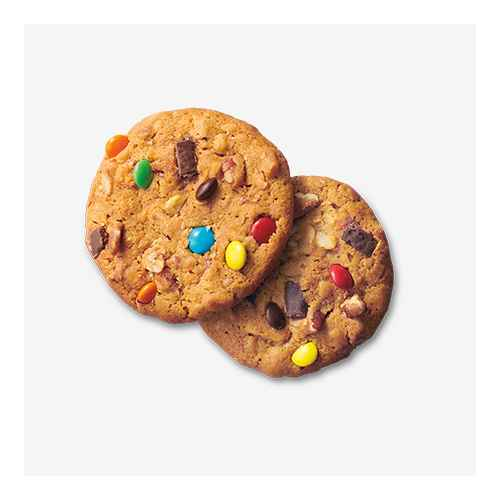 Soft Baked Monster Cookie with Pecans - 8oz - Favorite Day™, Soft Baked Chocolate Caramel Flavored Brownie Cookie - 8oz - Favorite Day™, Pumpkin Cheesecake Cookies - 10.6oz - Favorite Day™, Caramel Apple Crisp Cookie - 7oz - Favorite Day™