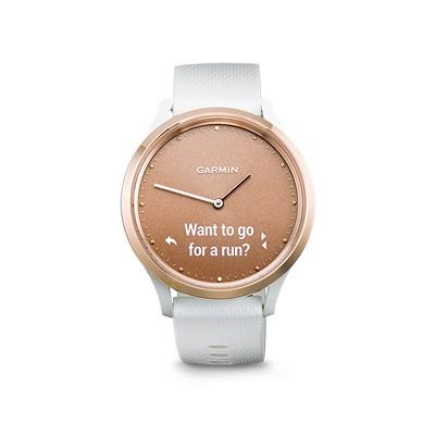 Garmin Vivomove HR Smartwatch - White/Rose Gold