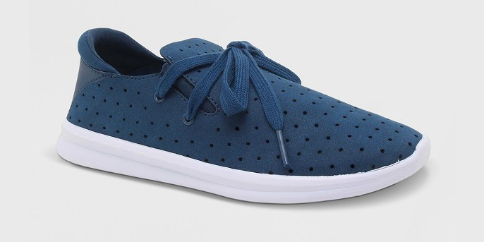 Women's Janai Lace up Lightweight Laser Cut Dot  Sneakers - Mossimo Supply Co™