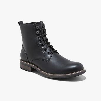 Men's Boston Casual Fashion Boots - Goodfellow & Co™ Black