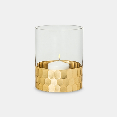 Candle Holder Vase Small - Gold- Threshold™