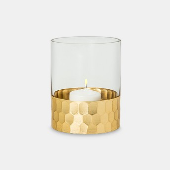 Candle Holder Vase Small - Gold- Threshold™
