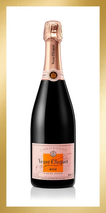 Veuve Clicquot Rose Champagne - 750ml Bottle