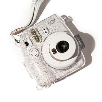 ATNY Instax Instant Camera Hard Shell Case with Adjustable Strap, Fujifilm Instax Mini 9 Camera