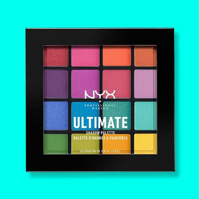 NYX Professional Makeup Ultimate Eyeshadow Palette - 0.46oz