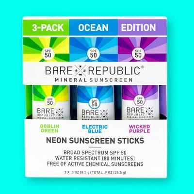 Bare Republic Sunscreen - SPF 50 - 3ct