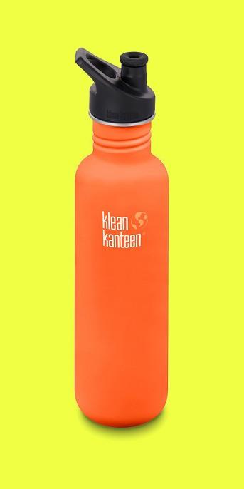 Klean Kanteen 27oz Classic Stainless Steel Water Bottle