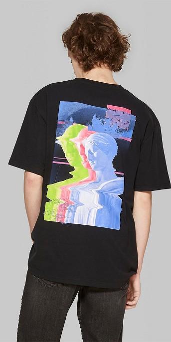 Men's Short Sleeve Off Air Crew Graphic T-Shirt - Original Use™ Black