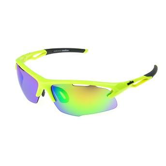 Men's Ironman Ironflex Polarized Wrap Blade Sport Sunglasses